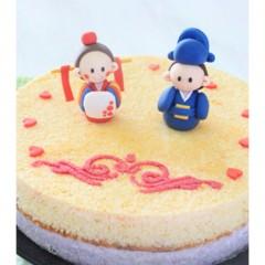 특별한날N 신랑신부인형 결혼축하떡케익
