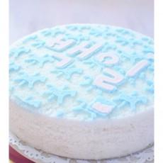 우리아이 생일날N 심플하고 러블리한 백일떡케익