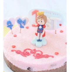우리아이 생일날N 미소천사 왕자의 예쁜떡케익