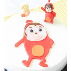 우리아이 생일날N 빨간소세지 코코아몽떡케익