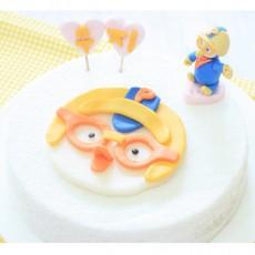 우리아이 생일날N 뽀통령 떡케익[나만의 선택! 생일파티N 캐릭터 피규어가 덤인ㅋ 꿈나무들의 캐릭터사랑 케이크]