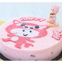 우리아이 생일날N 탄생케익 (돼지)