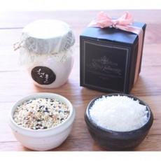 돌잔치답례품N 돌답례소금과 돌답례쌀(최소주문 30개) [100개미만은 할인혜택無! 기본구매선택]