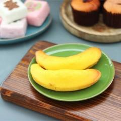 바나나 쌀머핀 (최소주문 // 간식용 실속포장 8개 / 선물용 리본포장 20개부터 주문가능)