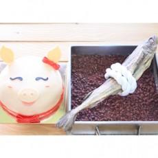 고사상N 깔끔한 돼지머리 맞춤케익과 오픈시루떡[고사상을 이젠 간단하고 깔끔하게! 개업고사상차림의 필수잇템 돼지머리 케이크]