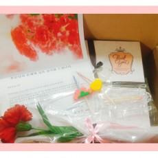 감사의마음을 사랑으로전하는 꽃떡배달 [카네이션 떡케이크]