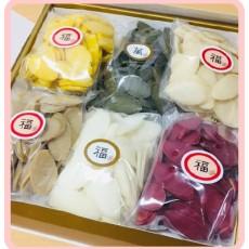 운수대통 새해인사 ~! 오색떡국떡 선물세트 4호 (최소주문 5개)