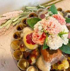 향긋한 비누꽃으로 사랑을 전하는 [ 카네이션 돈케이크 ] (※용돈별도 / 주문시 용돈계좌이체)